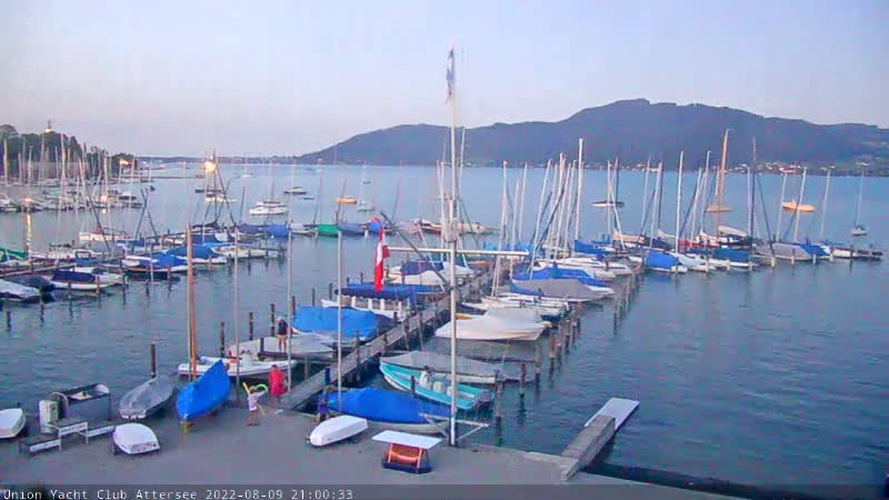 Live View vom UYCAS Segeclub in Attersee am Attersee